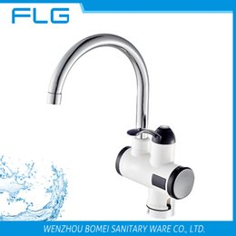 Wholesale Instant Heat Faucet - Free Shipping New Arrival Factory Product Wholesale Price For Retail Instant Heat Electric Kitchen Sink Faucet Electric Crane