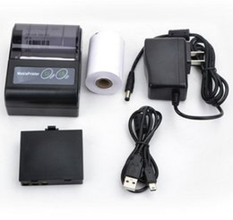 Wholesale Portable Printers - PP581 mini portable Android&IOS 58mm bluetooth printer thermal