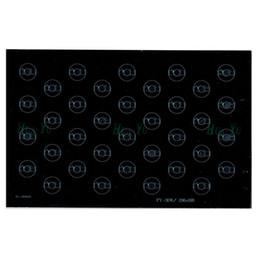 Алюминиевая опорная плита онлайн-Оптовая продажа-36W 48W 296x188mm алюминиевая пластина база для 1W 3W шарик LED PCB доска теплоотвода доска для дорожного света прожектор и т. д