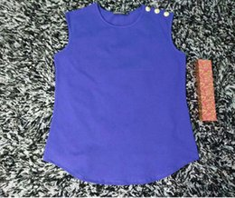 Wholesale Woman Clothing Tank Tops - new style free shipping retail bal brand short tshirt black white summer Women's Clothing Women's Tops & Tees