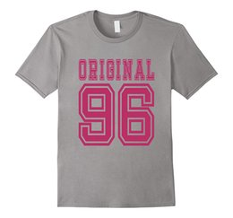 Wholesale Xl Girls Birthday - 1996 T-shirt 21st Birthday Gift 21 Year Old Girl B-day Cute