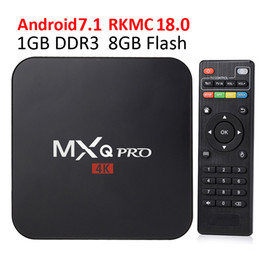 android google Coupons - Smart TV Media Player MXQ Pro S905W TV BOX Android 7.1 TV Boxes 4K Genuine Amlogic MXQ PRO 4K 1GB 8GB WiFi Lan Internet Google play box