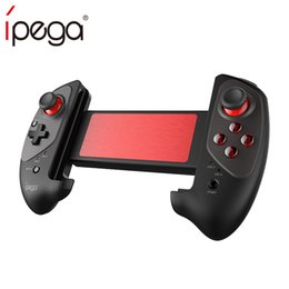 Controladores de juegos bluetooth android online-IPEGA PG-9083 Bluetooth 3.0 Joystick Gamepad Inalámbrico Telescópico Game Controller para Android iOP Teléfono Tablet PC Switch fortnite pubg handle