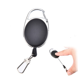 60 cm en plein air outil de pêche à la mouche Zinger rétracteur porte-clés porte-badge bobine rétractable mousquetons à rappel Clip porte-clés accessoires de pêche ? partir de fabricateur