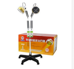 Wholesale Doble Cabeza Infrarroja TDP Lámpara Doble Temporizador Lámpara de Calefacción vertical doble cabeza Terapia dispositivo envío rápido