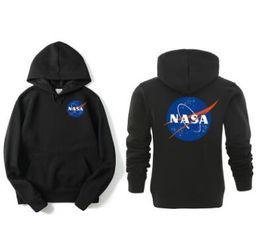 Argentina Otoño / invierno nuevo logotipo popular estilo caliente serie de la NASA de sudadera con capucha y sudadera con capucha con capucha deportiva para hombres y mujeres Suministro
