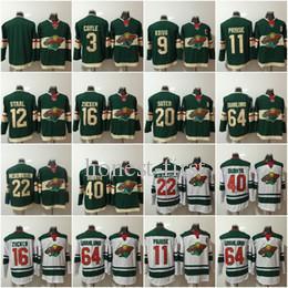 Wholesale eric staal jersey - #22 Nino Niederreiter 2017-2018 New Season Minnesota Wild Jersey 11 Zach Parise 12 Eric Staal 16 Jason Zucker 40 Devan Dubnyk Green Jerseys