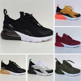 Wholesale Half Run - Max270 Mesh Half Palm Aircushioned Shock Absorption Kids Running Shoes Max270 Mesh Aircushioned Children Trainer Sneakers