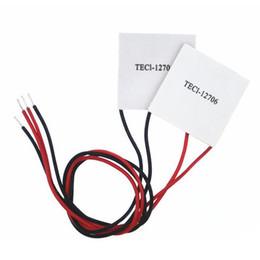Thermoelectric cooler online-TEC1-12706 12V Kühlkörper Thermoelektrischer Kühler Kühlung Peltierplattenmodul B00127 BARD