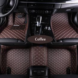 Wholesale Carpet Liner - Custom fit car floor mats for Jeep Grand Cherokee Wrangler Commander Compass Patriot 3D car-styling heavyduty carpet floor liner
