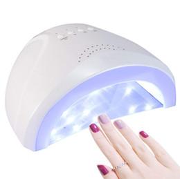 Curado Uñas Uñas Secador de de W LED Arte de de Pintura SUNone Gel Lámpara W Lámpara Secador Uñas 48 UV Secador de Uñas Uñas 24 de Gel Salón SMUVzp