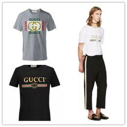 mann aus baumwolle Rabatt Italien Designer Sommer Street Wear Europa Made Fashion Kurzarm Hochwertige Baumwoll-T-Shirt für Männer Frauen T-Shirt Druck