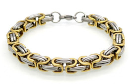 Wholesale Indian Men Wear - Europe and the United States highlights the personality of titanium steel bracelet stainless steel men's jewelry tide men will wear