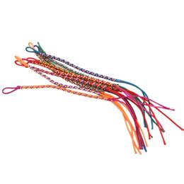 2019 brasilianer armbänder Brasilianischer Draht-Braid 9pcs Bracel Handmade Ethnic Multicolored # 4 günstig brasilianer armbänder