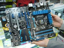 Wholesale Asus 1155 - For Asus P8Z77-V DELUXE Desktop Motherboard LGA 1155 Intel Z77 HDMI SATA 6Gb s ATX Systemboard
