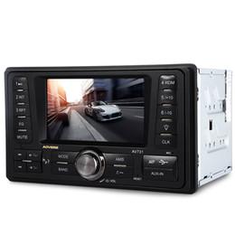 Pantalla de visualización 12v online-4.3 pulgadas de audio del coche estéreo 12V TFT pantalla de visualización de video automático AUX FM USB SD reproductor de mp3 con función de radio FM / MP3 / MP4 / Audio / Video / USB