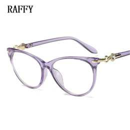 74d025511922 myopia frames vintage Canada - RAFFY Vintage Eyeglass Women Frame Myopia  Optical Eyewear Frames Glasses Clear