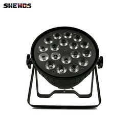 Wholesale High Power Uv Bulb - LED Par Can 18x18W RGBWA+UV DMX Stage Lights Business Light High Power Light with Professional for Party KTV