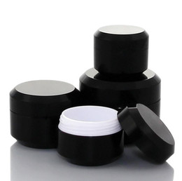 make up samples Promo Codes - 5g 10g 15g 30g Plastic Pot Jars Empty Cosmetic Container with Lid for Creams Sample Make-up Storage fast shipping SN1661