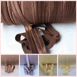 "Wholesale Handmade Ribbon Headbands - 5 8"" Fold Over Elastic ribbon, Ponytail Holder diy Accessories DIY handmade clothing accessories, 100yards a roll"