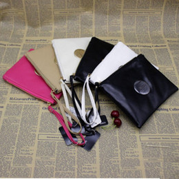 Wholesale Large Black Evening Bag - 2018 Fashion Brand Mimco Wallet Women PU Leather Purse Wallet Large Capacity Makeup Cosmetic Bags Ladies Luxury Shopping Evening Bag