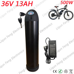 Douanes libres Pas de taxe 500W 350W 36V 13AH Batterie de bouteille d'eau pour vélo électrique 36 volts 13AH Lithium ion pour batterie de vélo électrique ? partir de fabricateur
