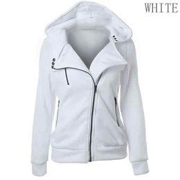 women sky sweatshirts NZ - Added Sky Blue New Spring Women Comfortable Hoodies Sweatshirts Zipper V Neck Long Sleeve Jacket