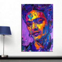 2019 afrikanische kunst gemälde frauen Frida kahlo Leinwand Malerei Abbildung Ölgemälde Druck auf Leinwand Wandbilder für Wohnzimmer Poster und Drucke
