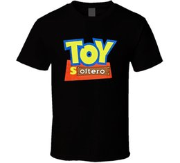 shrink toys Promo Codes - MENS FUNNY SPANISH ALL SIZES TOY SOLTERO MEXICAN RAZA BLACK T Shirt harajuku Summer 2018 tshirt