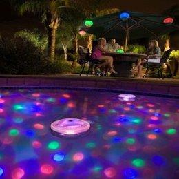Wholesale Aqua Led - New LED Floating Light Underwater Aqua Glow Swimming Show Pond Pool Spa Tub Lamp CLH@8
