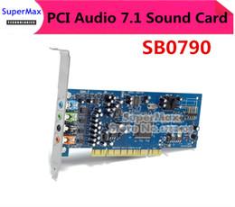 stivali a spina rj45 Sconti Originale smonta, per Creative Labs SB0790 PCI Sound Blaster Scheda audio X-Fi Xtreme Audio, funzionante al 100%