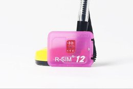 Orijinal R-SIM 12 RSIM12 iPhone X ios11 için kart kilidini rsim 12 rsim12 unlocking iphone8 8 p 7 7 P 6 6 S IOS 11-10.x 4G CDMA SB AU SPRINT nereden kutu kablosu kilidini aç tedarikçiler
