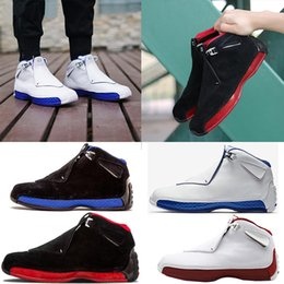 Wholesale Air Suppliers - Basketball shoes air retro 18 18s mens shoes black sport sneaker shoes,For hot online sale drop shipping top quality factory supplier