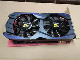 Wholesale Nvidia Geforce Graphic Cards - NVIDIA GeForce GTX750Ti 2GB 128bit DDR5 PCI-E Game Graphics Card DVI-I+VGA+HDMI Port 2 Cooling Fan