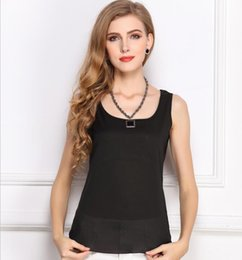 Wholesale women basic chiffon blouse - 10 Colors Tank Tops Women Chiffon Blouse Woman Top Basic Female Sleeveless Shirts Sexy Girl Camis European And American Style