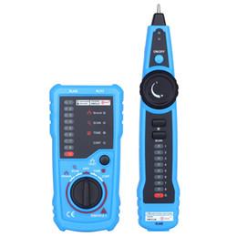 Canada Multifonctionnel Outil de test de réseau portatif RJ45 RJ11 Line Line Tracker Outil de test de câble multifonction Line Finder Nouveau + NB supplier cable finder Offre