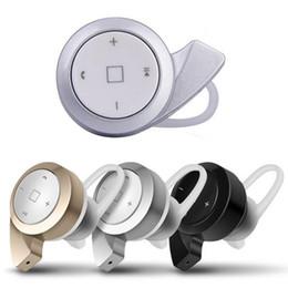 Mini auricular a8 online-Mini A8 Snail Bluetooth Auriculares inalámbricos Auriculares 4.0 Auriculares estéreo Sport Running con micrófono con caja al por menor