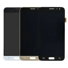 Wholesale Panels For Sale - Hot Sale For Samsung Galaxy J3 2016 J320 J320A J320F J320M J320FN Touch Screen Digitizer With LCD Display Assembly Support Brightness Adjust
