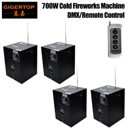Wholesale Electric Firework - TIPTOP 4 Pack non-inflammable stage cold flame fountain indoor electric sparklers cold fireworks for birthday party wedding Club Stage Disco