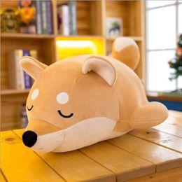 2019 fette tiere 25/35 cm Schöne Fett Shiba Inu Hund Plüschtier Gefüllte Super Weiche Tier Cartoon Kissen Kawaii Geschenk für Kinder Baby Kinder günstig fette tiere