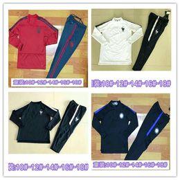 Wholesale sportswear for boys - Quality 2018 Munich children jacket training suitable for 18 19 Paris Vidal Paris sports suit LEWANDOWSKI Robben youth sportswear foo