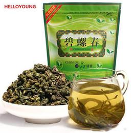 té verde original Rebajas Alta calidad C-LC018 Promoción chino Biluochun té 250g fresco natural original Té Verde Alto rentable Kung Fu té
