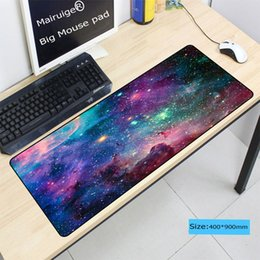 Mairuige Mor Uzay oyun mouse pad Kauçuk Bilgisayar büyük efsaneler Ligi için fare mouse pad Laptop Klavye mat ücretsiz kargo cheap mouse pad for laptop nereden dizüstü için fare yastığı tedarikçiler