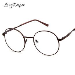 b072019ea8 marcos para gafas para hombre Rebajas Guardián largo Lentes de Metal Moda  Mujeres Oval Gafas Marcos