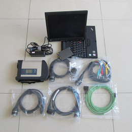 Wholesale c4 scanner - Diagnosis star c4 sd connect with laptop x200t touch screen with ssd fast ready to use for mb cars trucks scanner