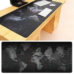 mesa feminina sexy Desconto Venda quente Extra Grande Mouse Pad Mapa Do Velho Mundo Gaming Mousepad Anti-slip Esteira Do Rato De Borracha Natural Jogo com Borda de Travamento
