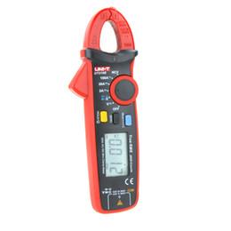 Wholesale Multimeter Current Clamp - UNI-T UT210E True RMS digital multimeter Mini Clamp Meter AC DC Current tongs diagnostic-tool amperimetro w  Capacitance Tester