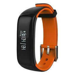pedômetros livres Desconto 2018 P1 Smartband Monitor de Pressão Arterial Banda Inteligente Pedômetro Atividade Rastreador Monitor De Pulso Pulseira de Fitness Pulseira Para O Telefone livre DHL