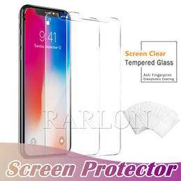 protector iphone 6s Coupons - New For iPhone 11 Pro Max Tempered Glass Screen Protector Film Screen Clear Film Protection 9H Hardness For iPhone XS MAX XR 8 7 Plus 6s