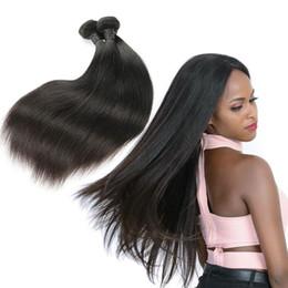 2019 дешевые 18 уток для волос Бразильские прямые девственные волосы утки 3 пучки натуральный черный 100% необработанные бразильские прямые человеческие волосы дешевые бразильские волосы скидка дешевые 18 уток для волос